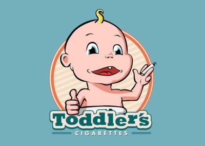 Smoking baby